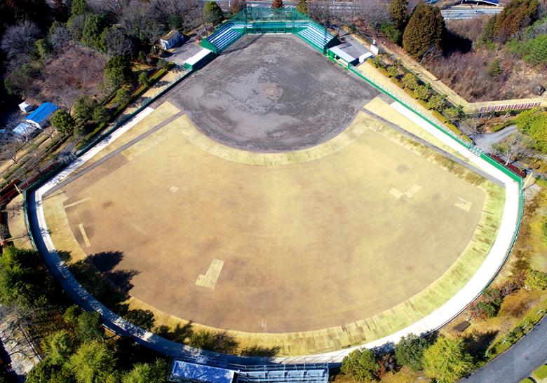 まきがね公園テニスコート・野球場改修工事