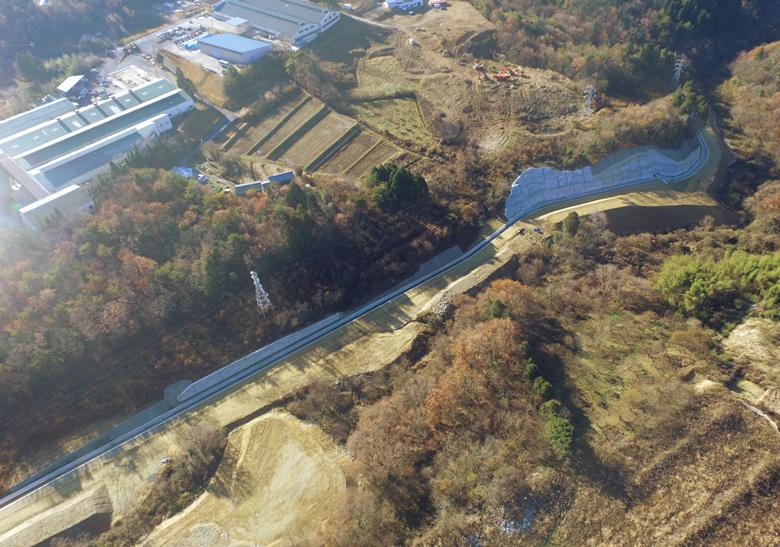 北山川河川改修工事