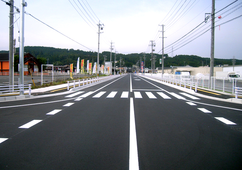 寺平的ヶ屋敷線他1路線道路改良工事