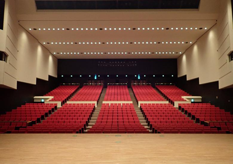 恵那文化センター大ホール天井耐震化等工事